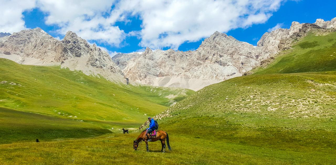 Hesteridning Kirgisistan