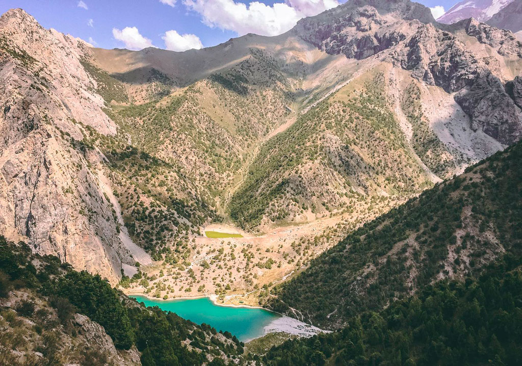 Chukurak-sjøen Tadsjikistan