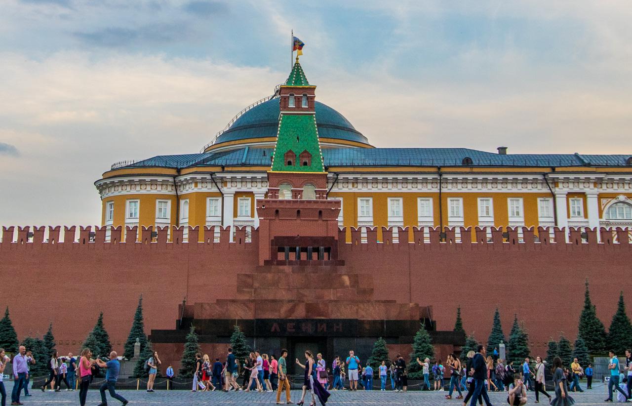 Lenin-mausoleet Moskva