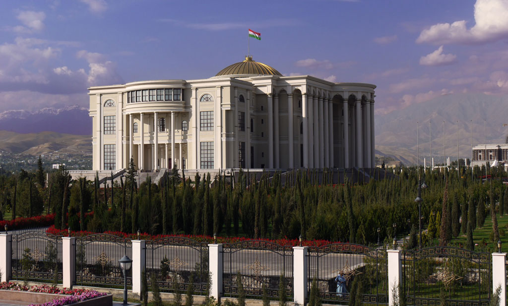 Presidentpalasset i Dusjanbe, Tadsjikistan