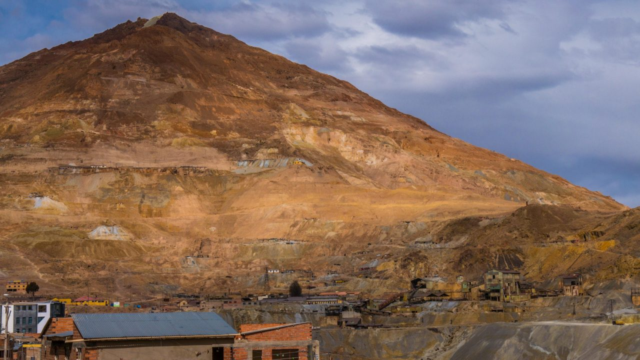 Cerro Rico Potosí Bolivia