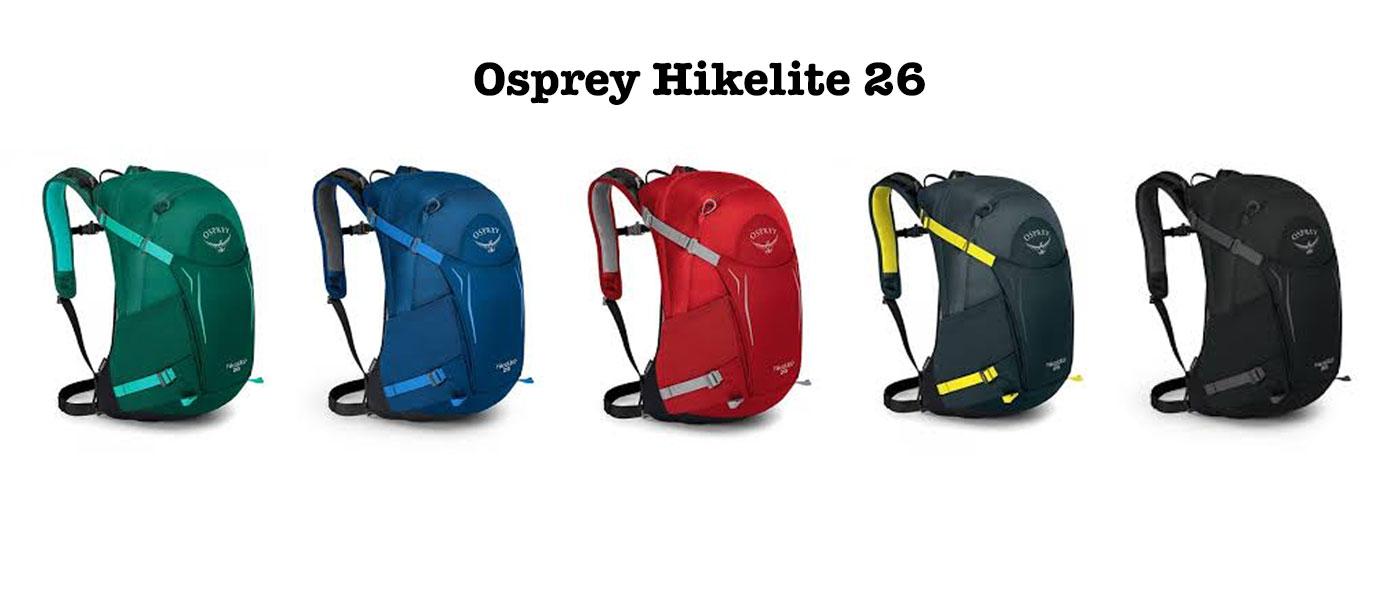 Osprey Hikelite 26 farger