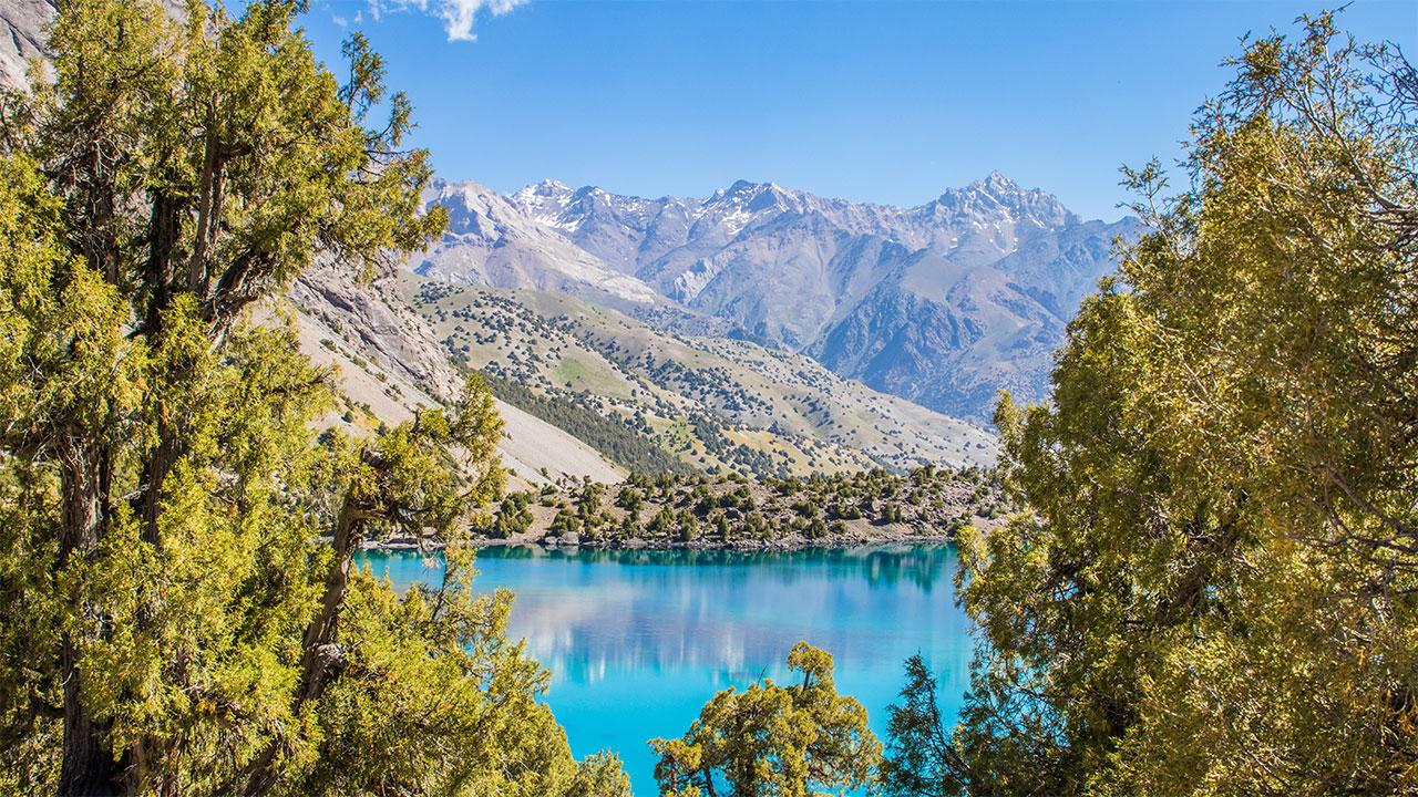 Alauddinsjøene Fannfjellene Tadsjikistan