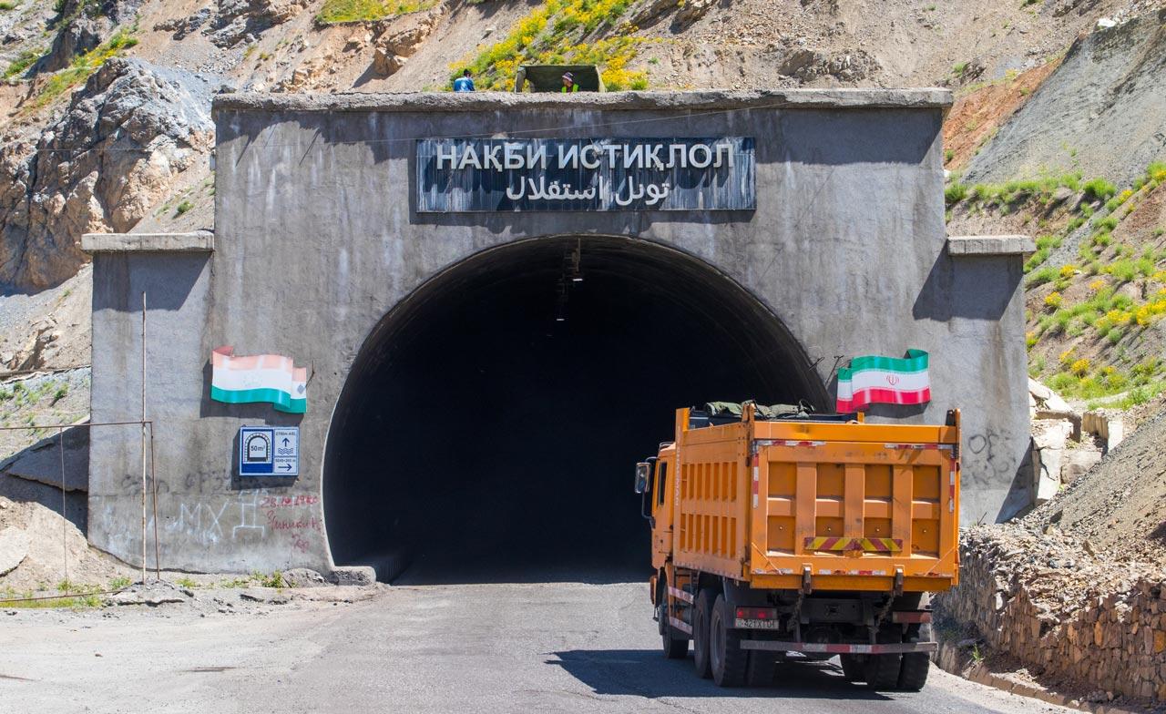 Anzob-tunnelen Tadsjikistan Dødens tunnel