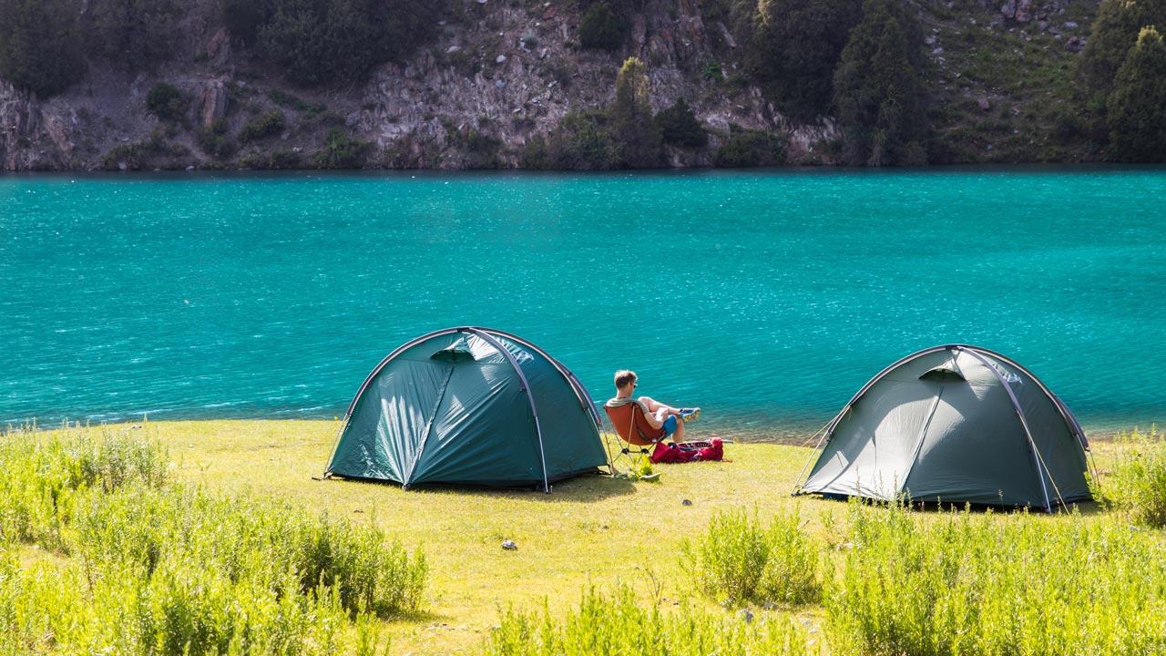 Camping Fannfjellene Tadsjikistan