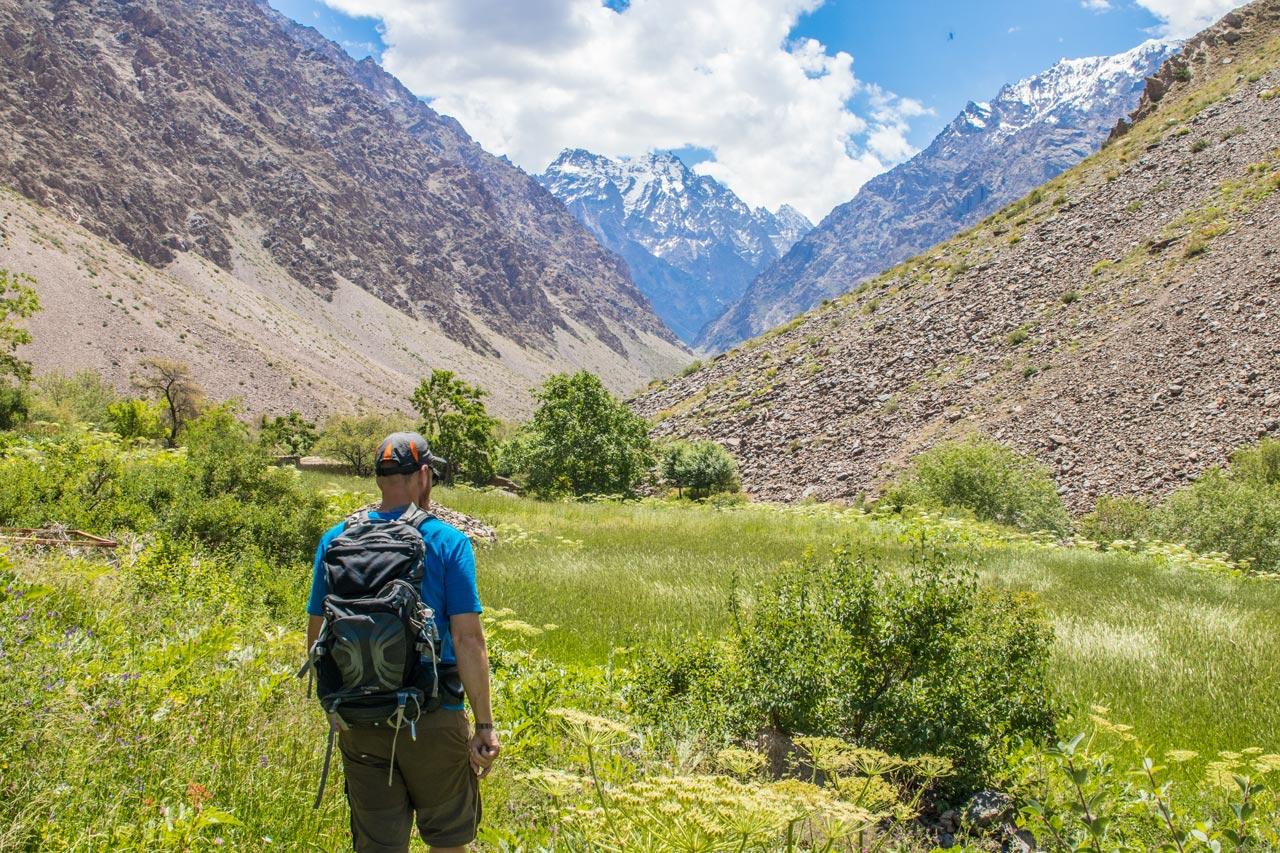 Jisev-dalen, Tadsjikistan
