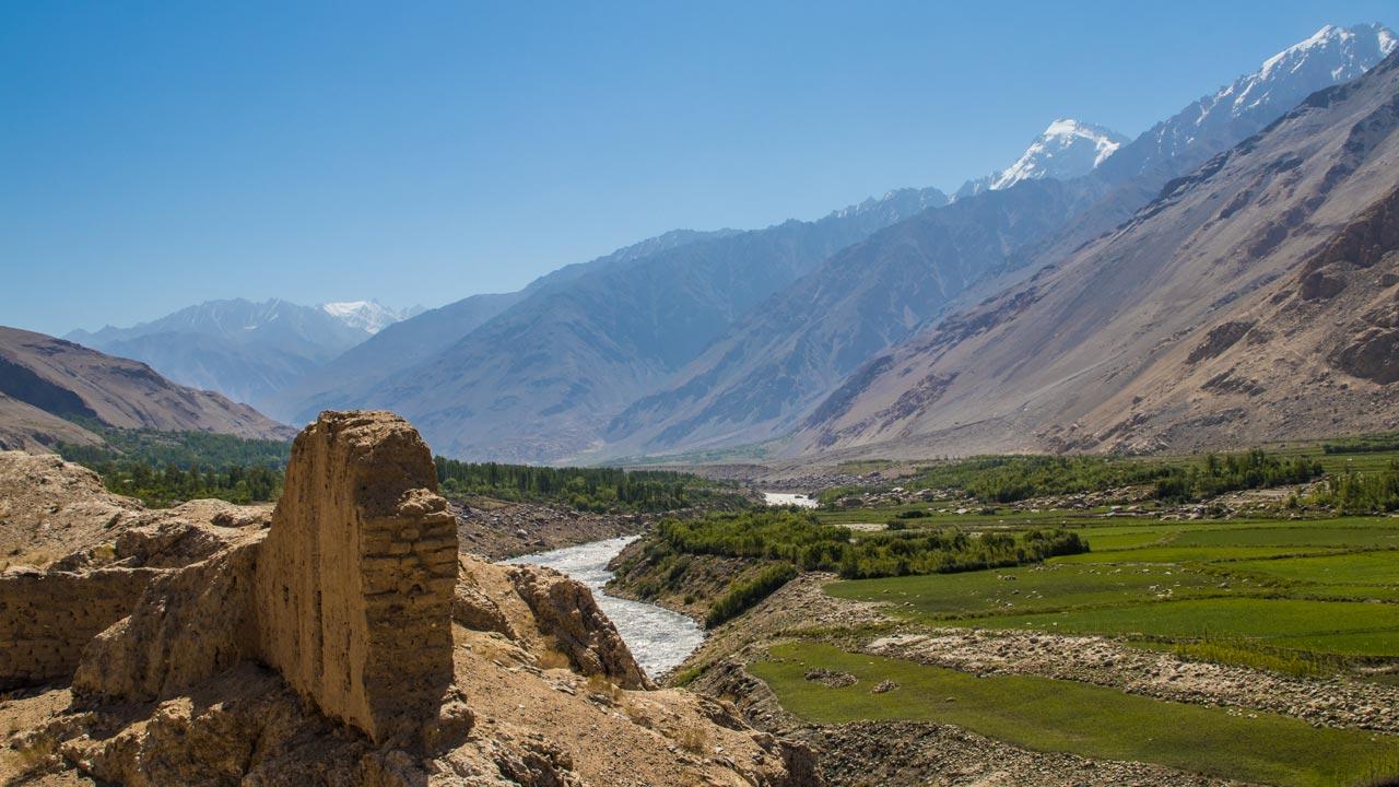 Wakhan-korridoren, Pamir Highway, Tadsjikistan