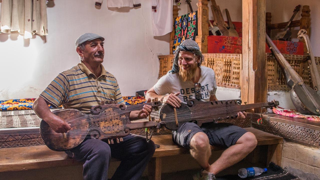 Lokal musiker, Tadsjikistan