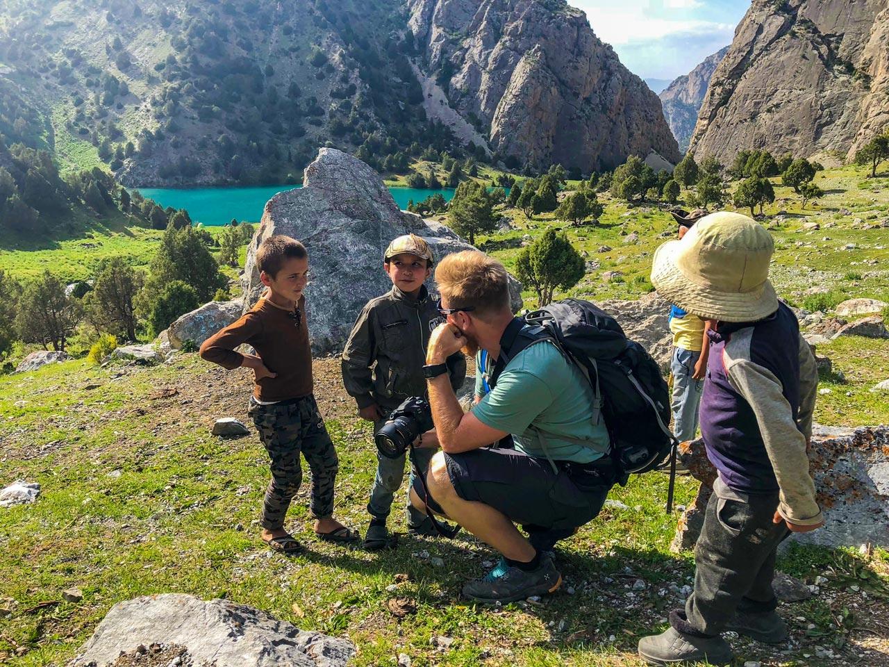 Barn Fannfjellene Tadsjikistan