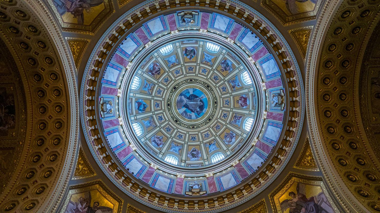 Interiør Sankt Stefans Basilika Budapest