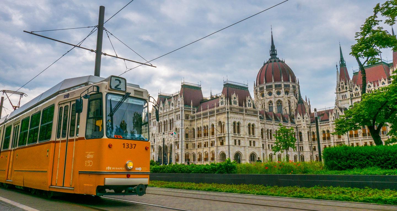 Parlamentet Budapest