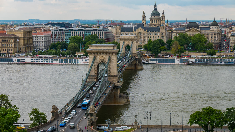 Kjedebroen i Budapest