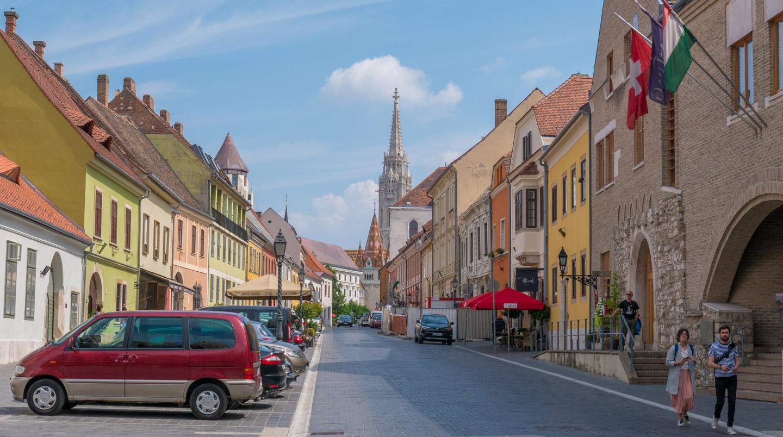Gamlebyen Buda Budapest