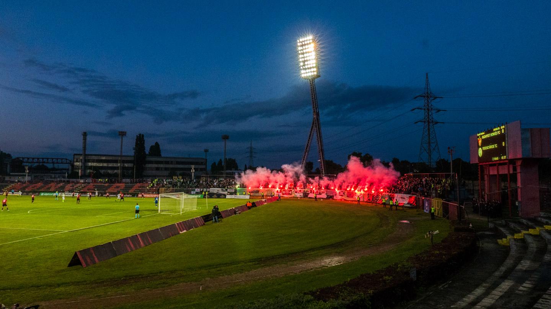 Honvéd mot Ferencváros på József Bozsik stadion i Budapest