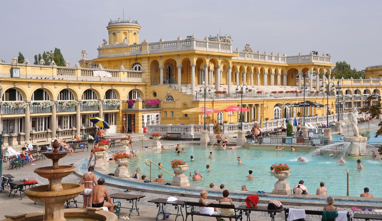 Széchenyi-badet Budapest