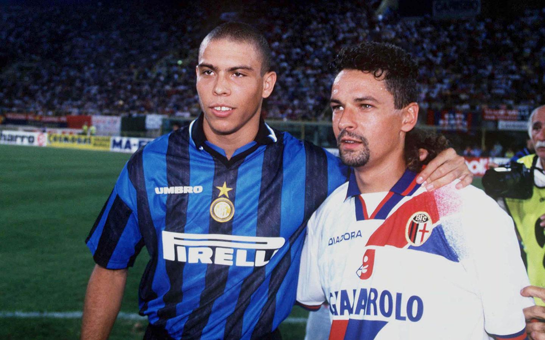 Ronaldo og Roberto Baggio
