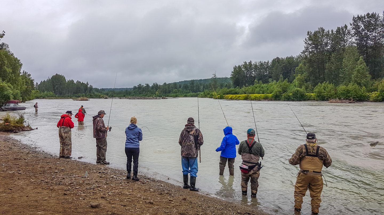 Laksefiske Talkeetna Alaska