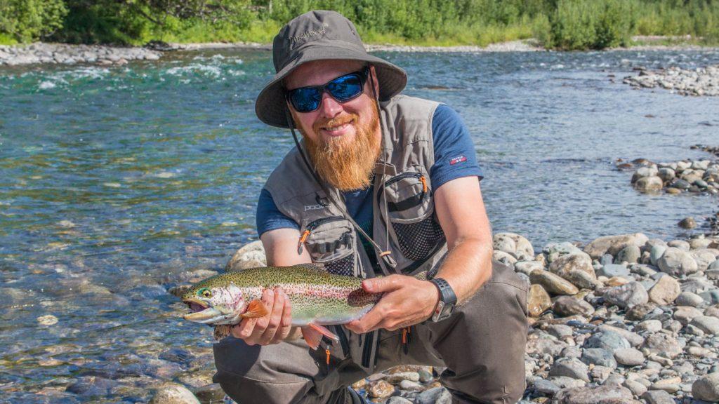 Anders Hakstun regnbueørret Alaska