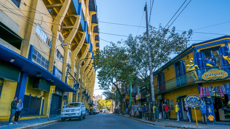 La Bombonera i La Boca, Buenos Aires