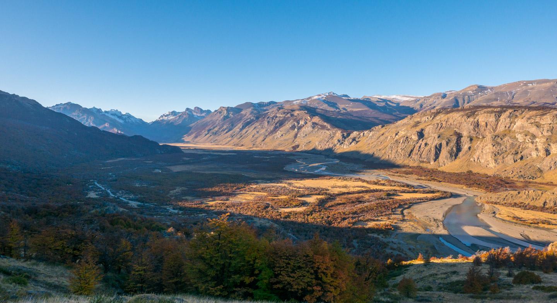 Nær El Chaltén i Patagonia, Argentina