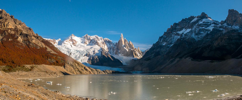 Laguna Torre og Cerro Torre i Patagonia, Argentina