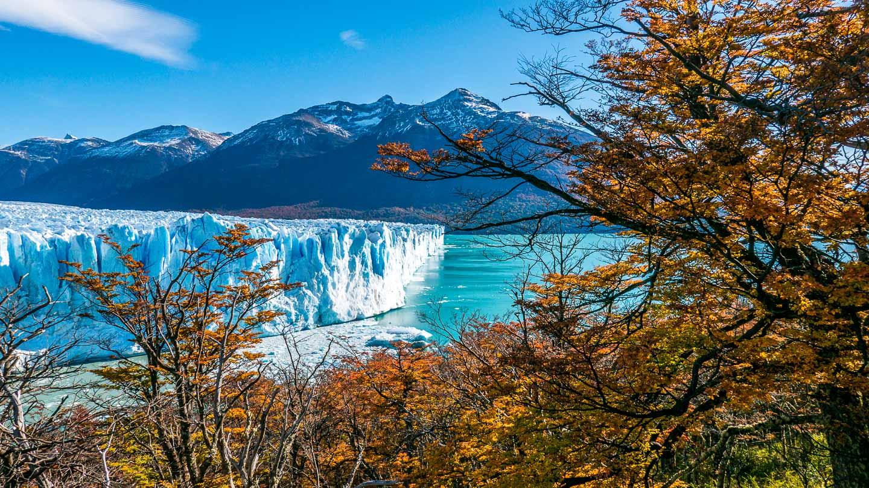 Perito Moreno-isbreen, Patagonia, Argentina