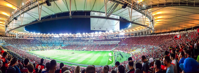 Fotballkamp Maracanã Rio de Janeiro