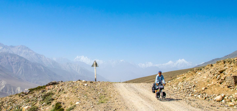 Sykle Pamir Highway Tadsjikistan