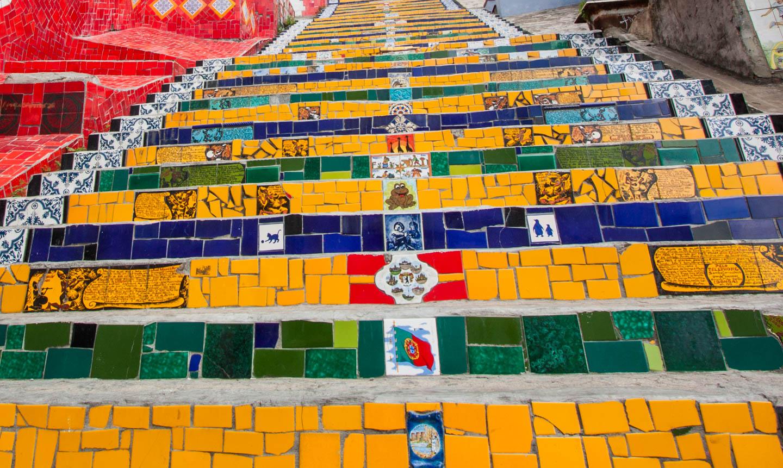 Selaron-trappene Rio de Janeiro