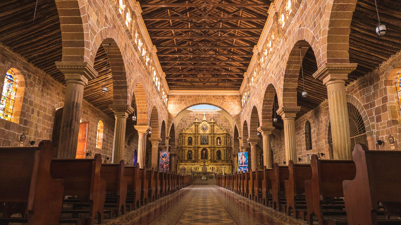 Katedralen i Barichara, Colombia