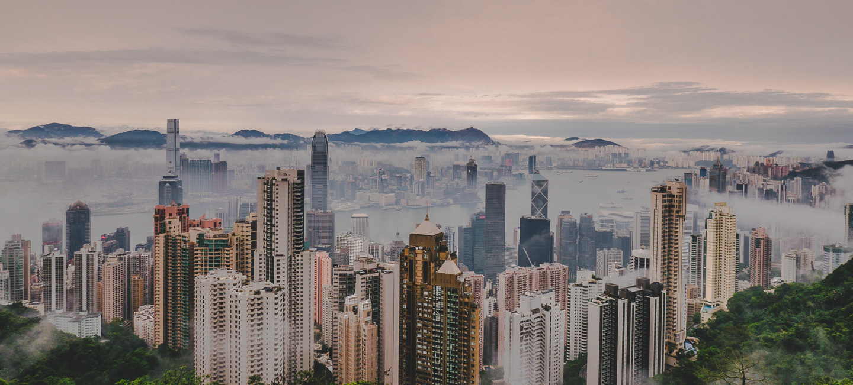 Victoria Peak i Hong Kong.