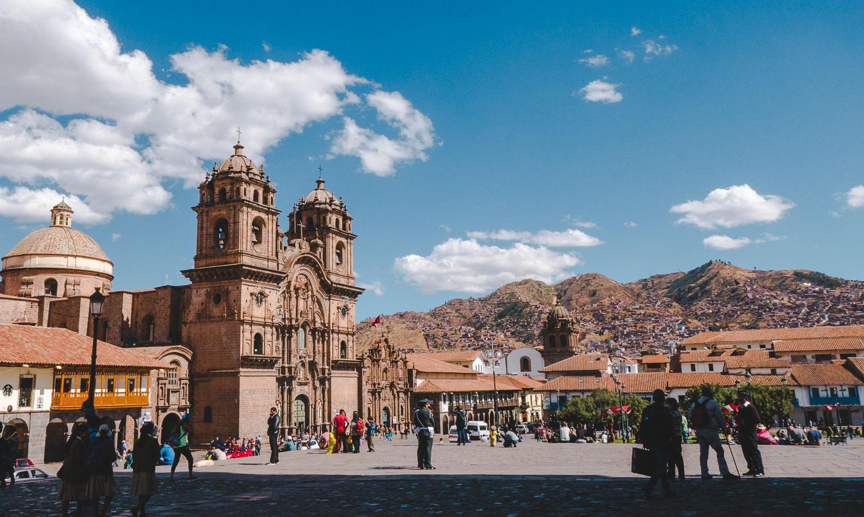 Katedralen i Cusco