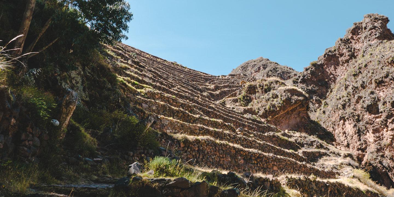 Pisac i Den helleige dalen, rett ved Cusco i Peru.