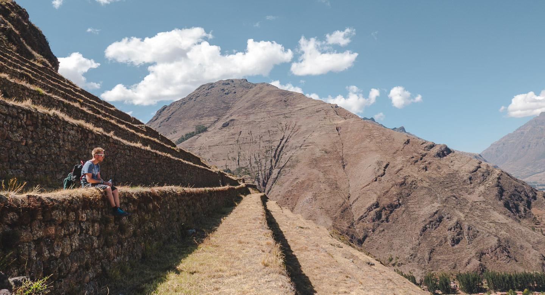 Písac i Den hellige dalen, rett ved Cusco i Peru.