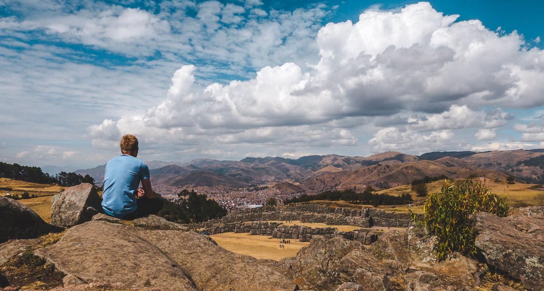 Saksaywaman ved Cusco i Peru