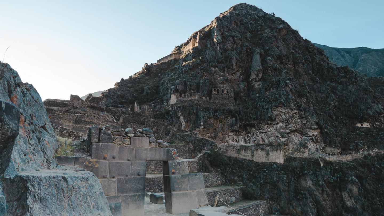 Ollantaytambo i Den hellige dalen i Peru