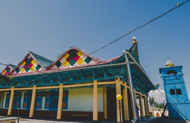 Dungan-moskéen i Karakol, Kirgisistan