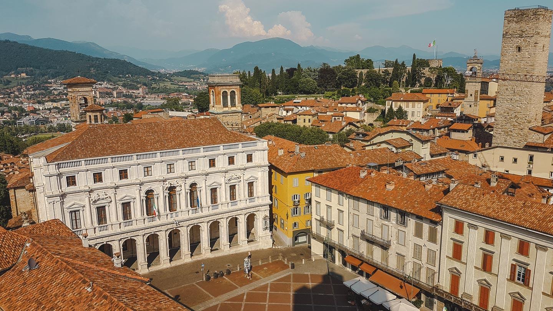 Piazza Vecchia i Bergamo