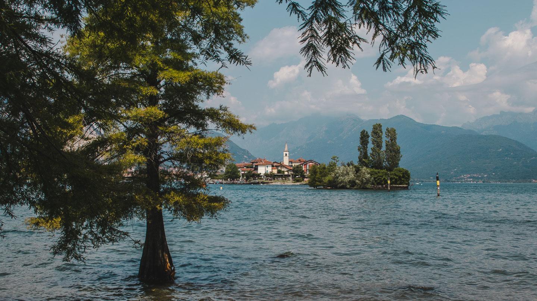 Isola dei Pescatori i Maggioresjøen.