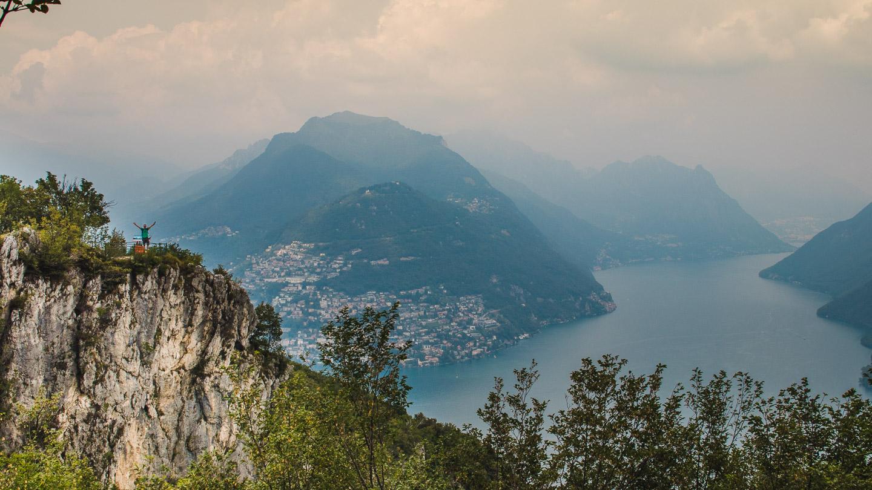 Monte San Salvatore ved Lugano.