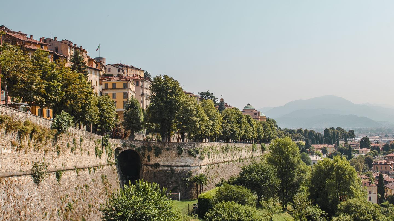 Bymuren i Bergamo
