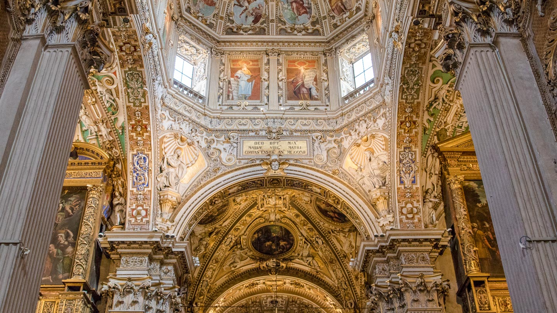 Santa Maria Maggiore-kirken i Bergamo