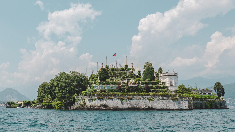 Isola Bella i Maggioresjøen.