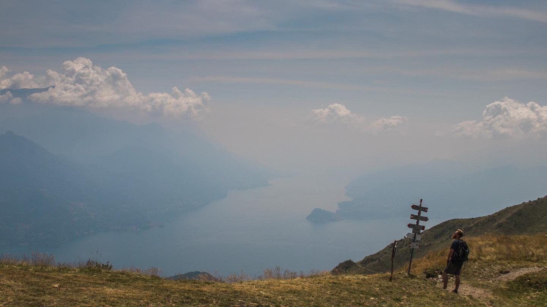 Hiking ved Comosjøen