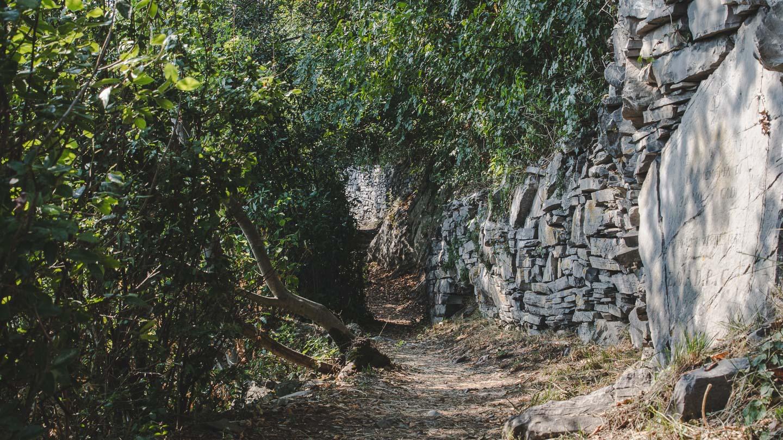 Sentiero del Viandante ved Varenna