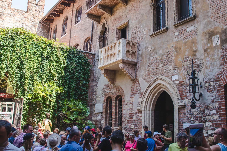 Julies balkong i Verona.