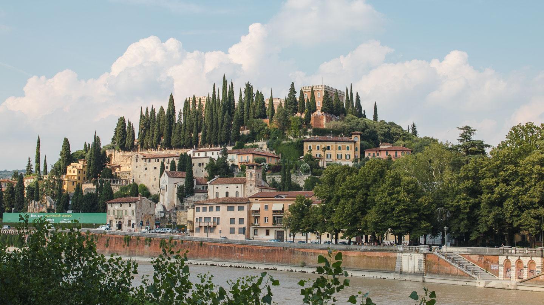 Castel San Pietro i Verona.