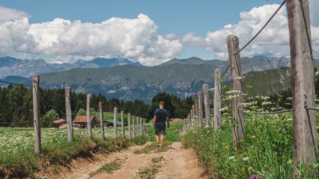 Fottur fra Bossico til Monte Colombina.
