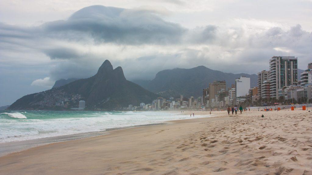 Ipanema i Rio de Janeiro.